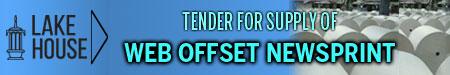 Web offset NewsPrint