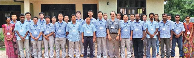 Sinohydro China ahead of schedule at Moragahakanda