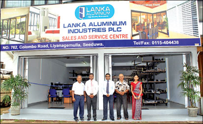 Daily News: Business | Lanka Aluminium Industries opens in