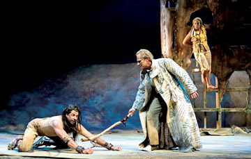 the caliban treatment of the tempest Ariel and caliban compare and contrast (the tempest)  caliban is rude but ariel has a caring side to him, feeling bad after obeying prospero.